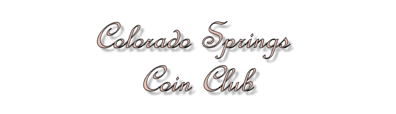 Colorado Springs Coin Club Home